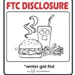 FTC Disclaimer for Free Food