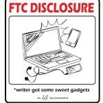 FTC Disclaimer for Free Gadgets