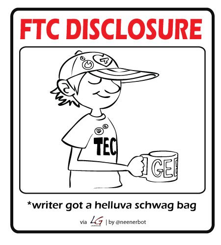 FTC Disclaimer for Free Stuff
