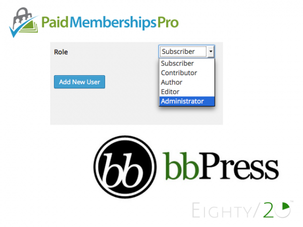Roles for Paid Memberships Pro + bbPress Integration